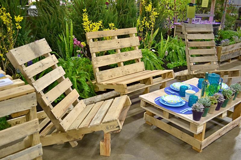 Salon de jardin palette : quel genre de salon palettes ira à votre ...